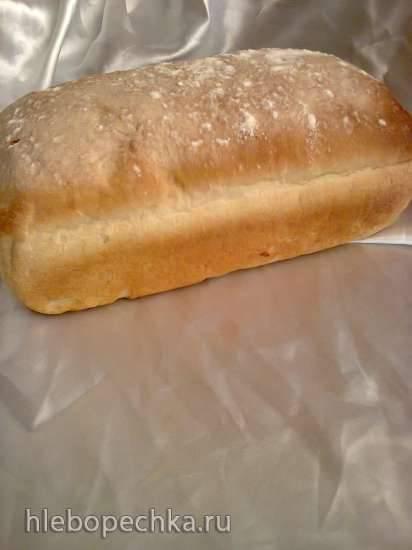 Хлеб на грибном маринаде (духовка)
