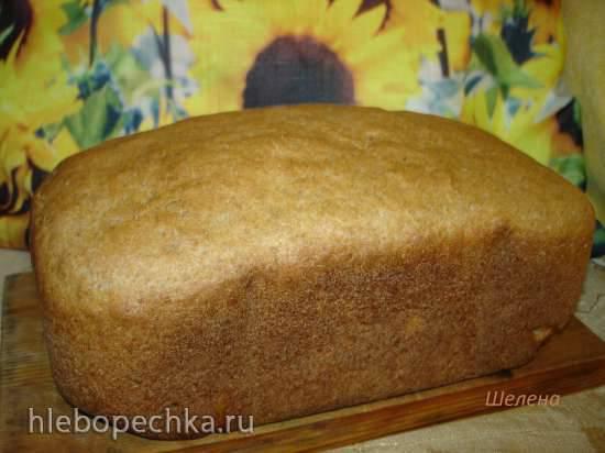 """Ржано-пшеничный дрожжевой хлеб по мотивам """"Российского"""" (хлебопечка Polaris PBM 1501D)Ржано-пшеничный дрожжевой хлеб по мотивам """"Российского"""" (хлебопечка Polaris PBM 1501D)"""