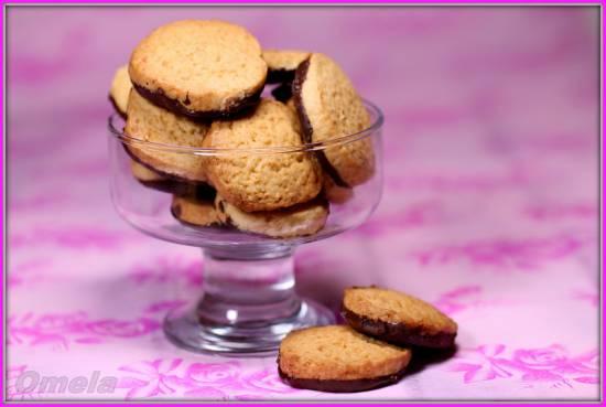 Кокосовое печенье с шоколадом