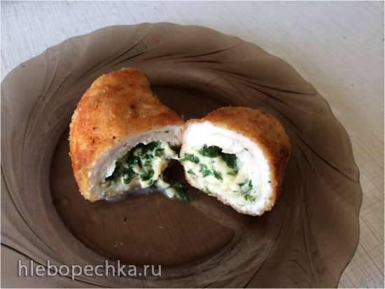 Куриные грудки с сырной начинкой - мультиварка Mirta MC-2211