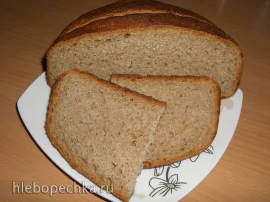 Простой хлеб на каждый день на МК закваске (духовка) Простой хлеб на каждый день на МК закваске (духовка)