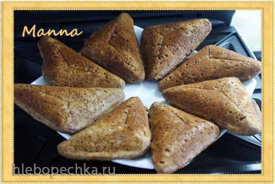 Льняные хлебцы (в сэндвичнице) Льняные хлебцы (в сэндвичнице)