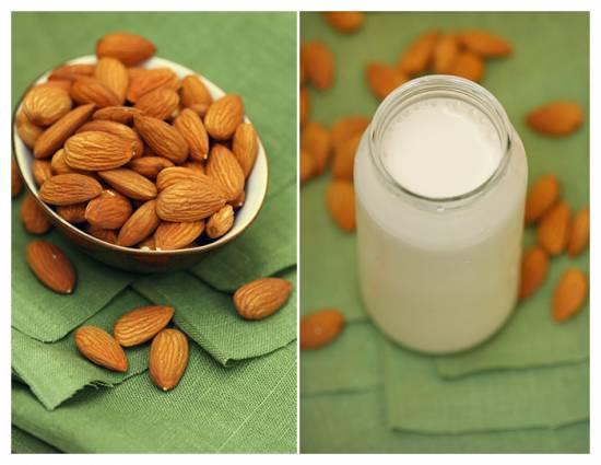 Медово-миндальное молоко Молоко из миндаля