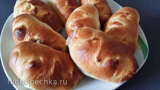 Пирожки с ревенем