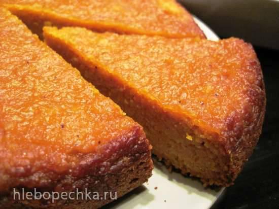 Морковный пирог в скороварке (мультиварке)