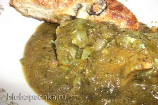 Мясо а-ля Чакапули(мультиварка-скороварка Steba DD1)