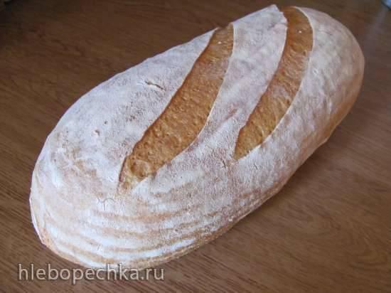 Кукурузный хлеб (Jeffrey Hamelman) с беконом