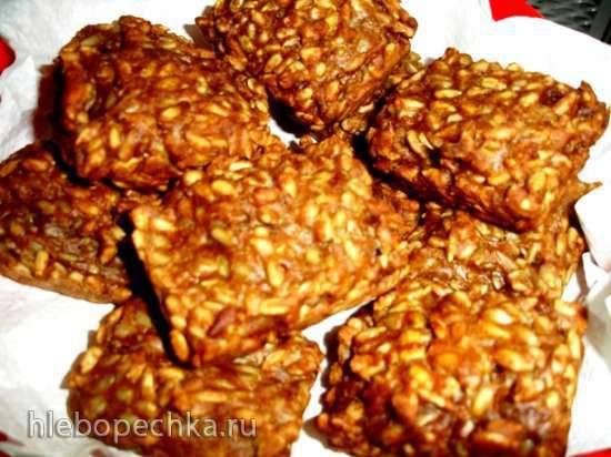 Порционный хлеб Могилевский быстрый вариант (брауни мейкер Tristar)