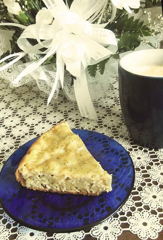 Пирог с луком в мультиваркеПирог с луком в мультиварке