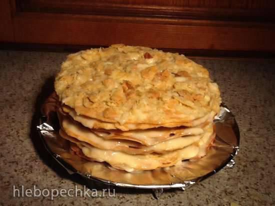 Экспресс-выпечка коржей для торта Наполеон с помощью Tortilla Maker (Чапатница) и духовки