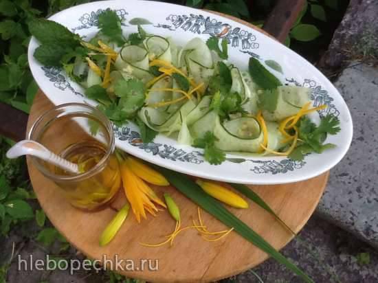 Огуречный салат Турецкий