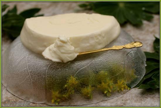 Сыр плавленный домашний в молоковарке