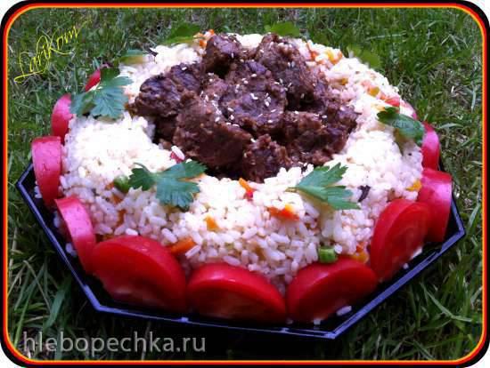 Баранина с рисом