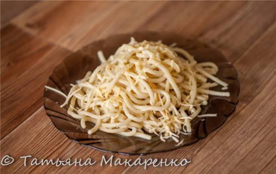 Домашняя лапша (спагетти)