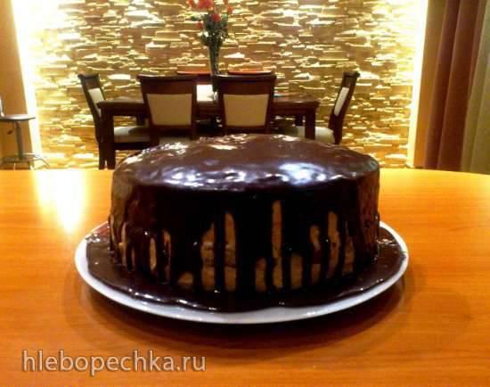 Торт Пражская ночь