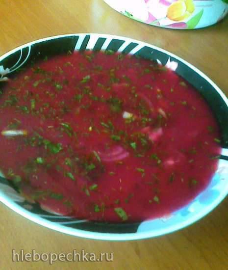 Холодный суп-винегрет