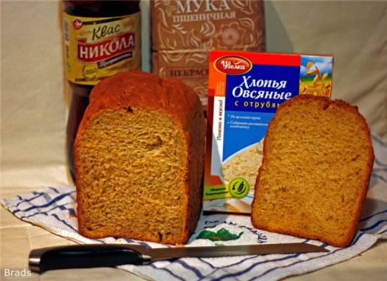 Bork X500. Пшенично-ржаной хлеб на сухом квасе Panasonic SD-2501. Пшеничный хлеб \