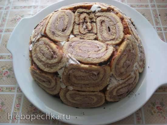 Торт-мороженое Мраморный