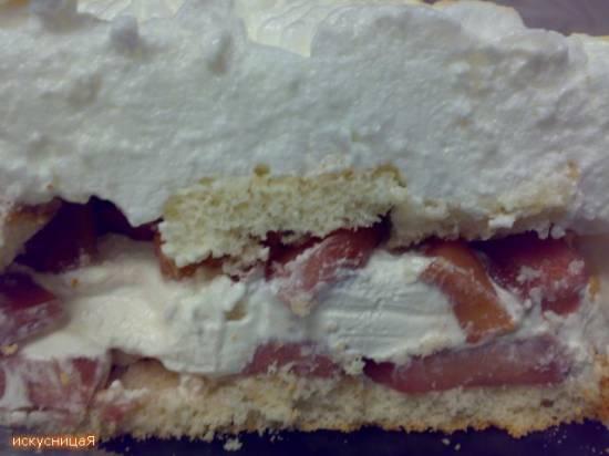 Торт-мороженное «Сюрприз» (рецепт  из журнала «Работница»)