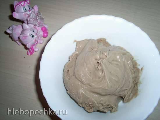 Мороженое с кэробом