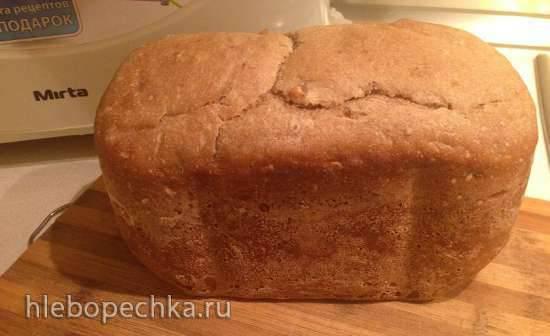 Mirta BM2088. Хлеб из натуральных продуктов для хлебопечки