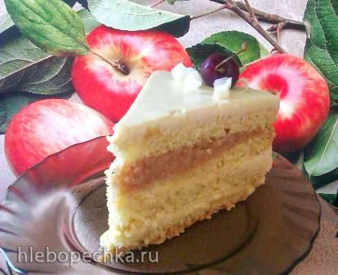 Торт Карамельно-коричное яблочко