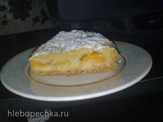 Пирог с абрикосами в скороварке Polaris 0305
