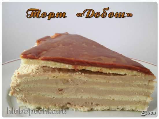 Торт Добош (Dobostorta)