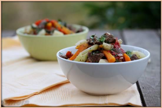 Нарханги – узбекское рагу из овощей с мясом (мастер-класс)