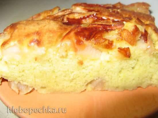 """Пирог """"Заливные яблоки"""""""