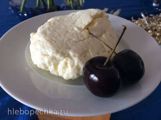 Домашний свежий сыр Рикотта