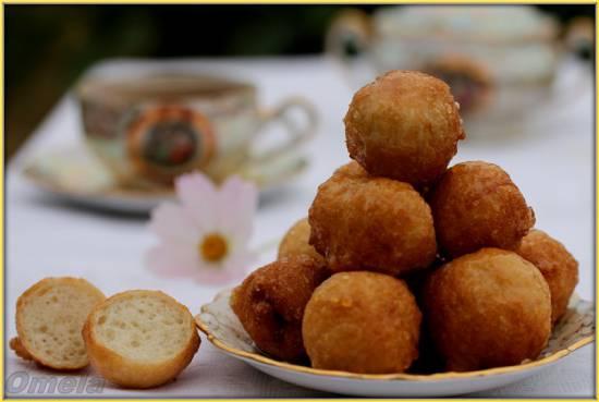 Лукумадес - греческие пончики
