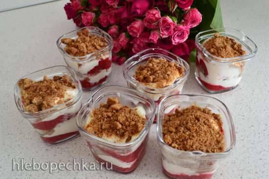 Десерт с малиной от Найджелы Лоусон