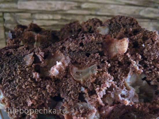 Шоколадная шарлотка Кудесницы