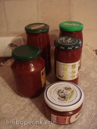 Крем-соус сметанный