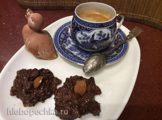 Шоколадный комплимент с овсянкой к кофе и чаю без выпечки