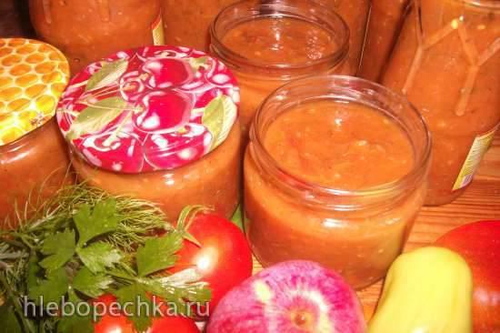 Яблочно-томатный соус