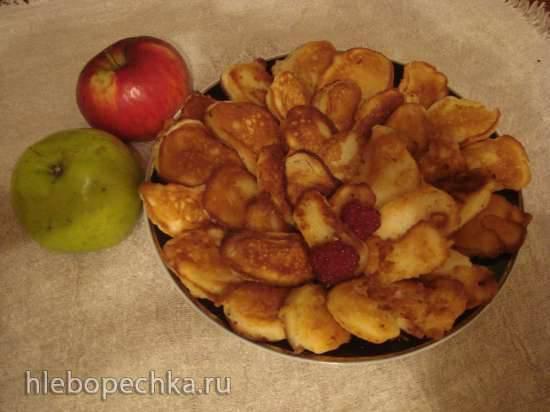 Яблоки в кляре по-немецки