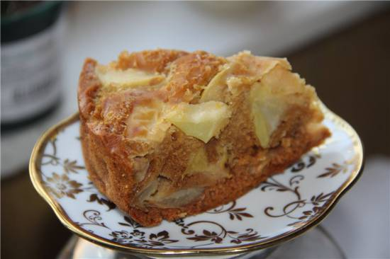 Яблочный пирог с медом (Steba DD2)