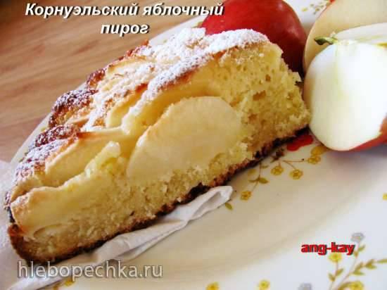 Корнуэльский яблочный пирог