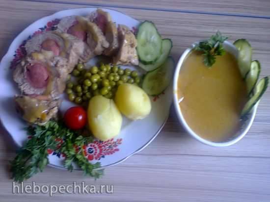 Свинина по-гамбургски (один из вариантов)