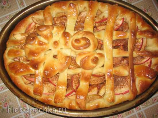 Пирог Роза ветров