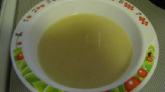 Баварский манный суп