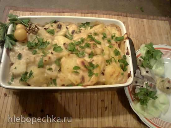 Бременская картофельная запеканка