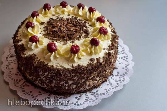 Торт Черный лес (Schwarzwalder Kirschtorte)
