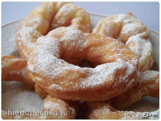 Шприцкухен (Spritzkuchen) - заварные кольца
