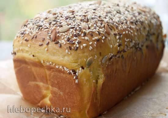Пшеничный хлеб с тыквой