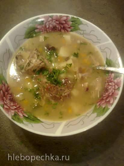 Суп из бычьих хвостов Ochsenschwanzsuppe