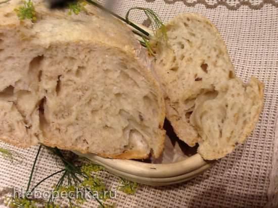 Ржано-пшеничное базовое тесто для пиццы