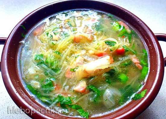 Лохматый суп по-фогтландски Zodelsuppe